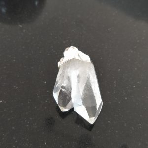Clear Quartz Twin Point Pendant