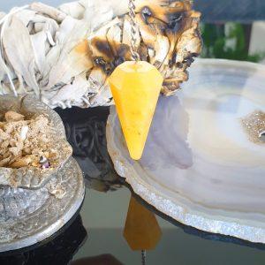 Pendulum Yellow Aventurine