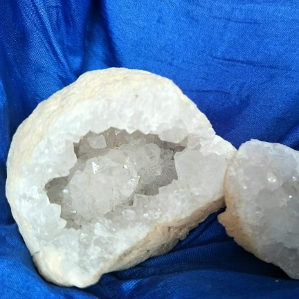 Brazilian Quartz Geode