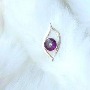 Rainbow Aura 'Eye' Pendant