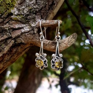 Citrine 'Daisy' Earrings