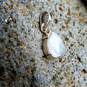 Moonstone Teardrop Pendant