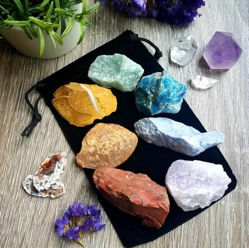 Crystal Pouches / Intuitive Selections – Large