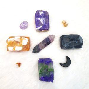Chakra Crystal Soaps