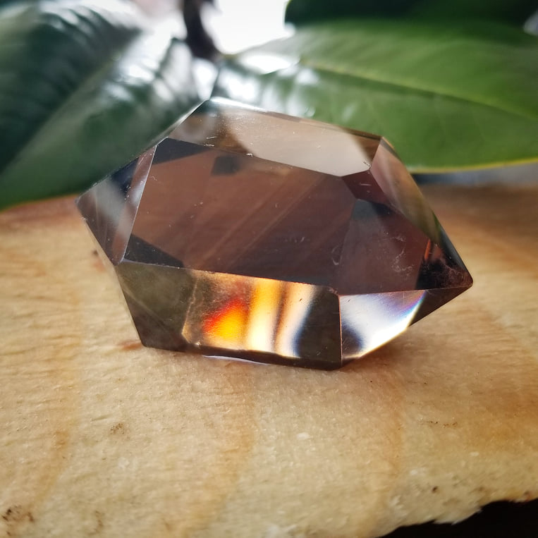 Deep Smoky Quartz Double Terminated