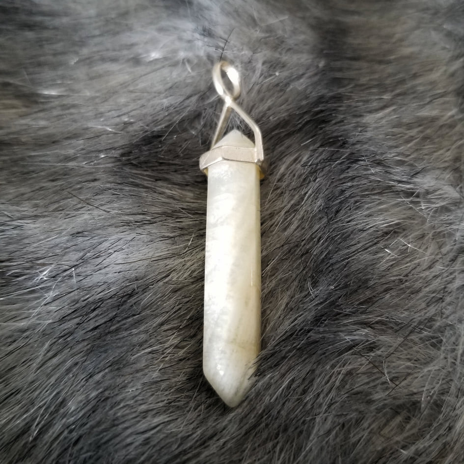 Moonstone Point Pendant