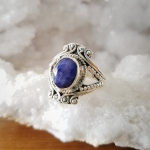 Regal Sapphire Ring