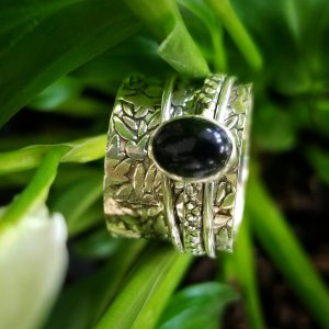 Onyx Meditation Ring