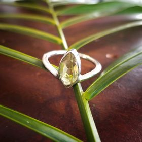 Regal Lemon Quartz Ring
