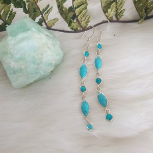 Turquoise Rain Earrings