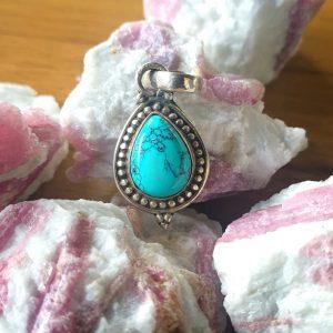 Turquoise Warrior Pendant
