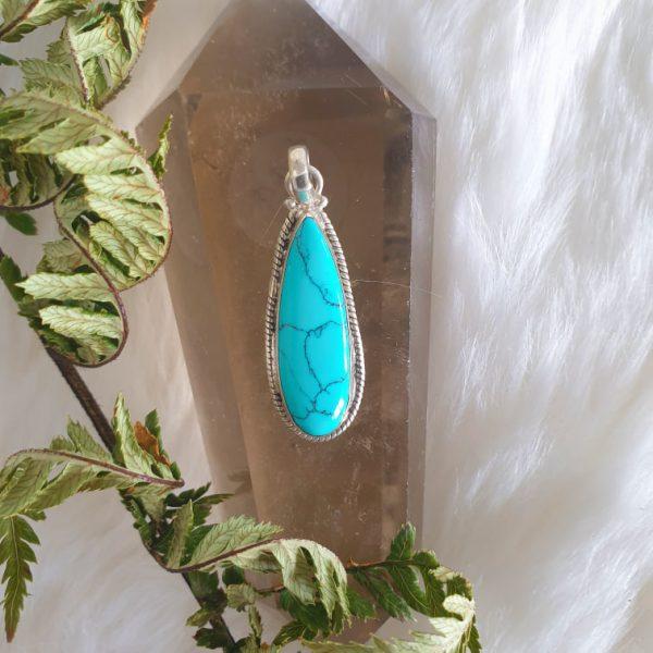 Turquoise Purification Pendant