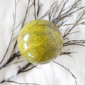 Green Opal Sphere