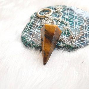 Tigers Eye Pendulum