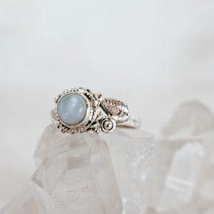 Moonstone Nest Ring