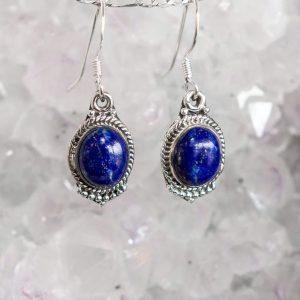 Lapis Lazuli Truth Earrings